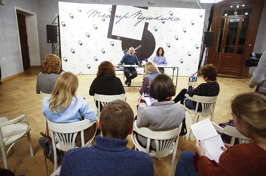 В Пскове прошла пресс-конференция с организаторами XXV Пушкинского театрального фестиваля